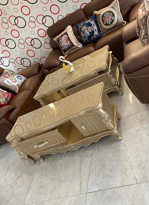 Royal Glass Top Center Table With Tv Stand | Furniture for sale in Lagos State, Ajah