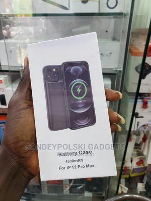 Battery Case 4500mah for iPhone 12 Pro Max   Accessories for Mobile Phones & Tablets for sale in Lagos State, Ikeja