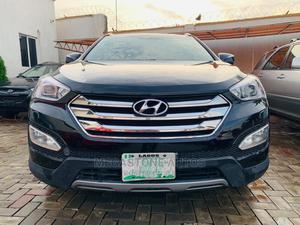 Hyundai Santa Fe 2014 Black   Cars for sale in Lagos State, Magodo