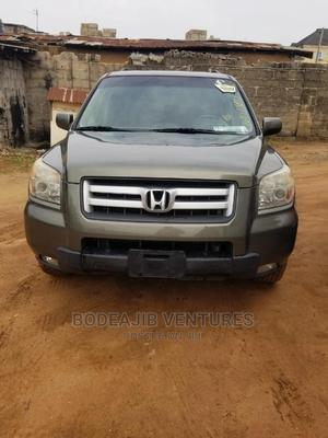 Honda Pilot 2005 EX-L 4x4 (3.5L 6cyl 5A) Gold | Cars for sale in Lagos State, Ikotun/Igando