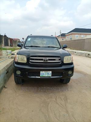 Toyota Sequoia 2003 Black   Cars for sale in Lagos State, Ojota