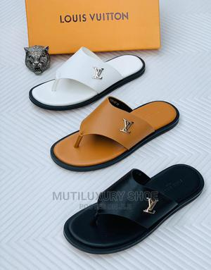Original Louis Vuitton Gucci Hermes Sillppers | Shoes for sale in Lagos State, Lagos Island (Eko)