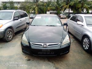 Honda Accord 2007 2.4 Exec Automatic Black | Cars for sale in Lagos State, Ikeja