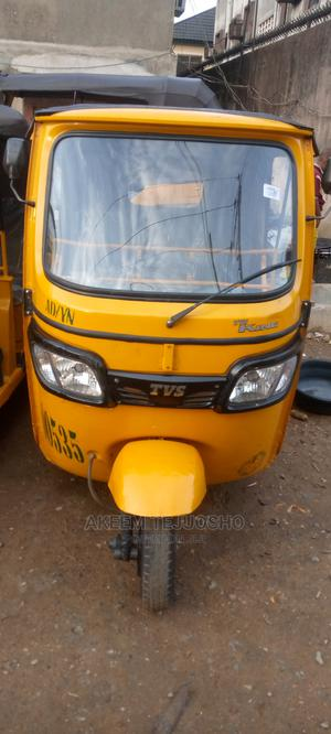 TVS Apache 180 RTR 2018 Yellow | Motorcycles & Scooters for sale in Lagos State, Shomolu