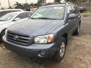 Toyota Highlander 2006 V6 4x4 Blue   Cars for sale in Lagos State, Ikeja