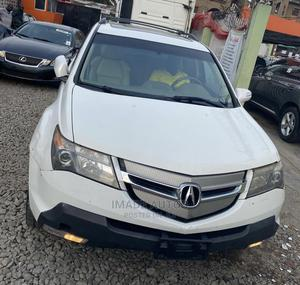 Acura MDX 2008 SUV 4dr AWD (3.7 6cyl 5A) White | Cars for sale in Lagos State, Ogba