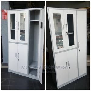 Metal Wardrobe With Shelves | Furniture for sale in Lagos State, Amuwo-Odofin