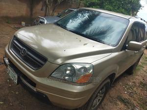 Honda Pilot 2004 EX-L 4x4 (3.5L 6cyl 5A) Gold | Cars for sale in Kwara State, Ilorin West