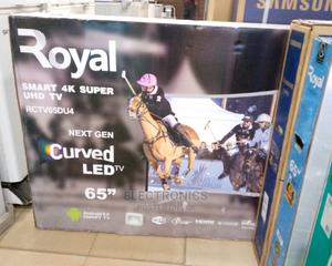 """Royal Curved Smart Tv 65"""" 