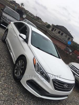 Hyundai Sonata 2014 White   Cars for sale in Lagos State, Abule Egba