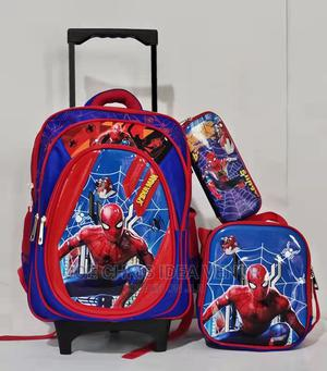 Spiderman Kids School Bag and Lunch | Babies & Kids Accessories for sale in Lagos State, Kosofe