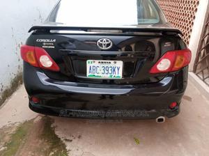 Toyota Corolla 2010 Black   Cars for sale in Abuja (FCT) State, Asokoro