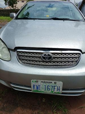 Toyota Corolla 2003 Sedan Automatic Silver | Cars for sale in Delta State, Ika South