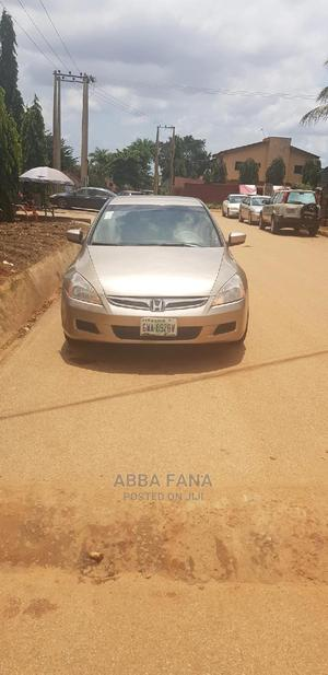 Honda Accord 2007 2.4 Exec Gold   Cars for sale in Abuja (FCT) State, Karu