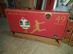 Original 49 Inches Lg Smart 4k Tv | TV & DVD Equipment for sale in Lagos State, Lekki