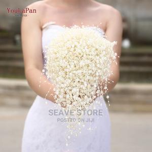 Pearl Bridal Bouquet | Wedding Wear & Accessories for sale in Lagos State, Amuwo-Odofin