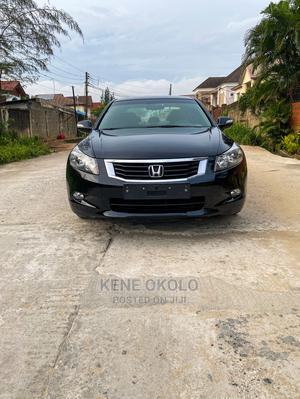Honda Accord 2009 Sedan EX-L V6 Automatic Black | Cars for sale in Lagos State, Ikeja