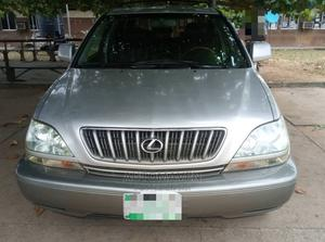 Lexus RX 2001 300 4WD Silver | Cars for sale in Lagos State, Isolo