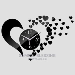 Decorative Lovely Fashionable Acrylic Wall Clock/Watch | Home Accessories for sale in Lagos State, Ikorodu