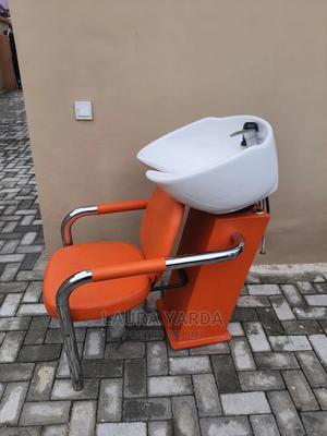 Salon Hair Sink With Chair | Salon Equipment for sale in Lagos State, Lekki