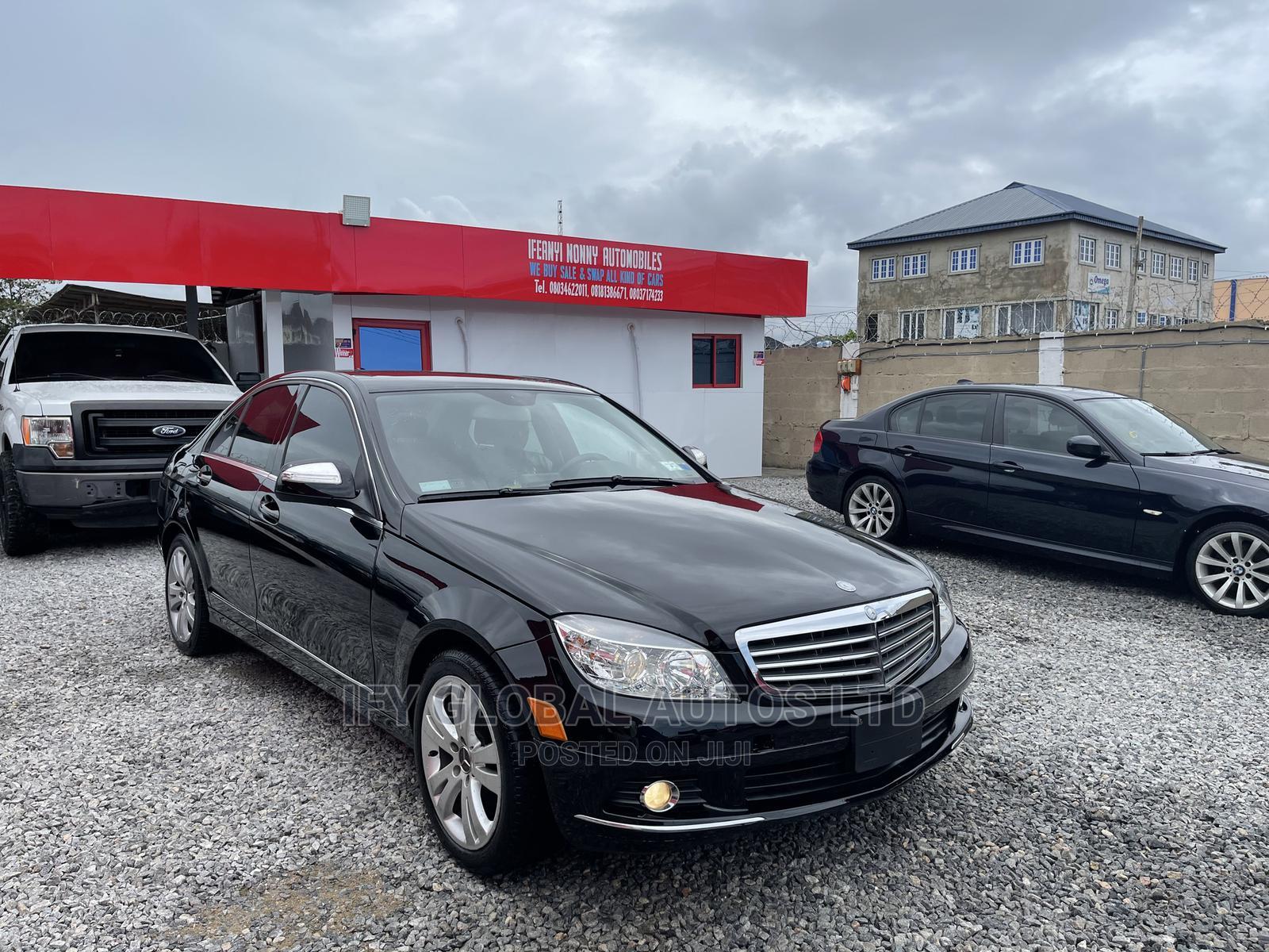 Mercedes-Benz C300 2008 Black | Cars for sale in Amuwo-Odofin, Lagos State, Nigeria