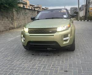 Land Rover Range Rover Evoque 2013 Pure Plus AWD Green | Cars for sale in Lagos State, Ajah