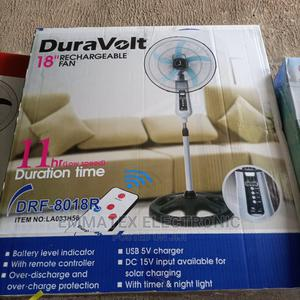 Duravolt Rechargeable Fan 18 Inches   Home Appliances for sale in Lagos State, Amuwo-Odofin