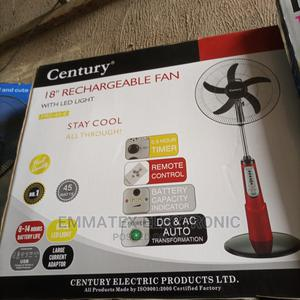 Century Rechargeable Fan 18 Inches   Home Appliances for sale in Lagos State, Amuwo-Odofin