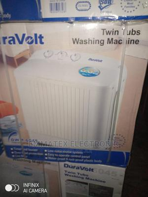 Duravolt Washing Machine 7kg Washing and Spine   Home Appliances for sale in Lagos State, Ajah