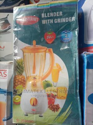 Superintermet Blender With Grinder   Kitchen Appliances for sale in Lagos State, Amuwo-Odofin