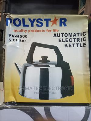 Polystar Automatic Electric Kettle   Kitchen Appliances for sale in Lagos State, Amuwo-Odofin