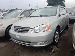 Toyota Corolla 2003 Sedan Automatic Silver | Cars for sale in Lagos State, Apapa