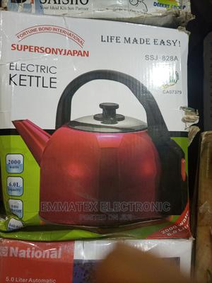 Supersonyjanpan Automatic Electric Kettle   Kitchen Appliances for sale in Lagos State, Amuwo-Odofin