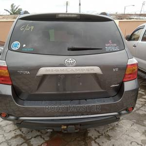 Toyota Highlander 2009 Limited 4x4 Gray   Cars for sale in Lagos State, Ojo