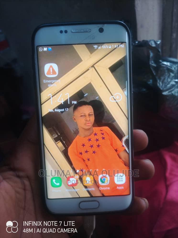 Samsung Galaxy S6 edge 32 GB White | Mobile Phones for sale in Ibadan, Oyo State, Nigeria