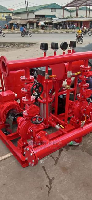 Fire Hydrant Pump System Coupled One Electric Motor | Plumbing & Water Supply for sale in Lagos State, Orile