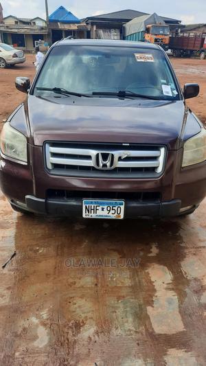Honda Pilot 2007 EX 4x4 (3.5L 6cyl 5A) Brown | Cars for sale in Lagos State, Ojodu