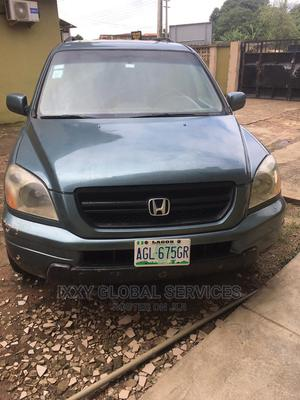 Honda Pilot 2005 EX-L 4x4 (3.5L 6cyl 5A) Blue | Cars for sale in Lagos State, Ikotun/Igando