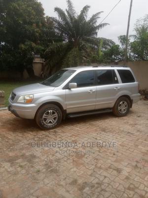 Honda Pilot 2003 EX 4x4 (3.5L 6cyl 5A) Silver   Cars for sale in Lagos State, Ojodu