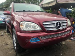 Mercedes-Benz M Class 2003 ML 350 Red   Cars for sale in Lagos State, Apapa
