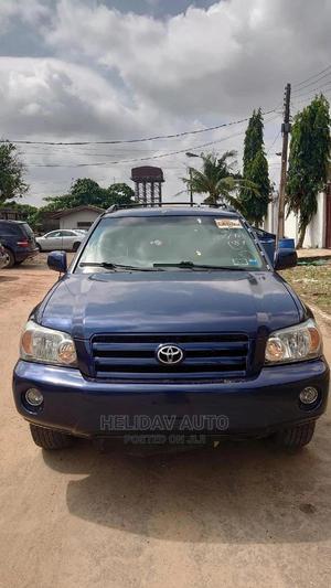 Toyota Highlander 2006 V6 4x4 Blue | Cars for sale in Lagos State, Alimosho