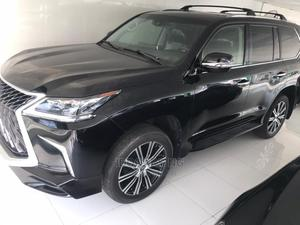 Lexus LX 2020 570 AWD Black | Cars for sale in Lagos State, Surulere