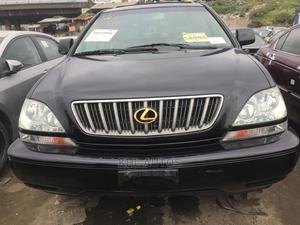 Lexus RX 2002 300 4WD Black | Cars for sale in Lagos State, Apapa