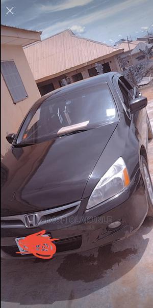 Honda Accord 2006 2.4 Executive Black | Cars for sale in Oyo State, Ibadan