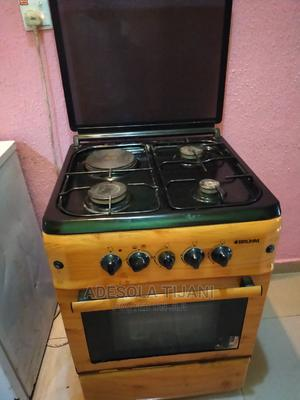 Bruhm Wooden Electric and Gas Cooker 3 in 1 | Industrial Ovens for sale in Lagos State, Ikorodu