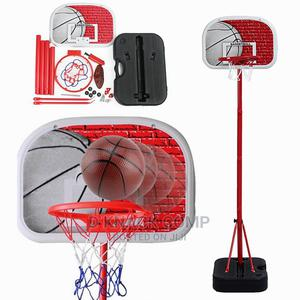 Kids Sport Adjustable Basketball Stand Backboard Nets Ball | Toys for sale in Lagos State, Alimosho