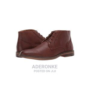 Steve Madden Yak 6 Cognac Leather Boots | Shoes for sale in Lagos State, Ikeja