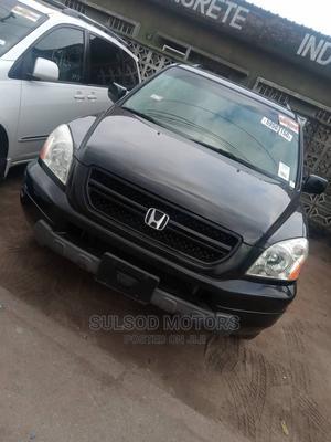 Honda Pilot 2004 EX 4x4 (3.5L 6cyl 5A) Black | Cars for sale in Lagos State, Mushin