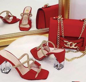 Beautiful Heels With Handbags, Turkey Brand | Bags for sale in Delta State, Warri