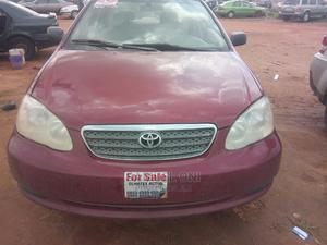 Toyota Corolla 2005 LE Red | Cars for sale in Abuja (FCT) State, Lugbe District